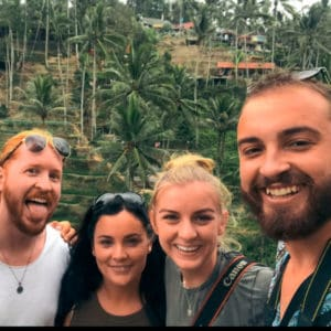 Ghillie and her friends showing us that travelling in your 30s is as epic as it sounds